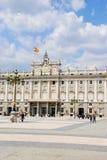 Koninklijk paleis, Madrid Royalty-vrije Stock Afbeeldingen