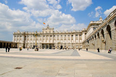 Koninklijk paleis, Madrid Stock Afbeelding