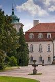 Koninklijk paleis in nieborow royalty-vrije stock afbeelding