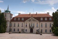 Koninklijk paleis in nieborow stock fotografie