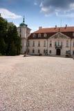 Koninklijk paleis in nieborow royalty-vrije stock fotografie