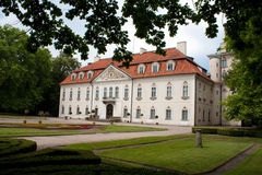 Koninklijk paleis in nieborow Royalty-vrije Stock Foto