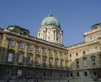 Koninklijk paleis op heuvel Buda Stock Afbeelding