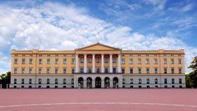 Koninklijk paleis in Oslo, Noorwegen Royalty-vrije Stock Afbeelding