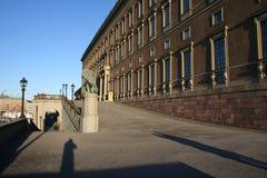 Koninklijk paleis, Stockholm Royalty-vrije Stock Foto