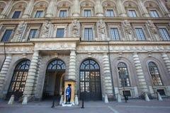 Koninklijk paleis in Stockholm Royalty-vrije Stock Foto's