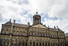Koninklijk paleis van Amsterdam Stock Fotografie