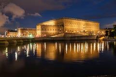 Koninklijk paleis van Zweden stock foto