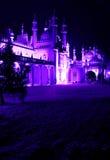 Koninklijk paviljoen bij nacht Royalty-vrije Stock Foto's