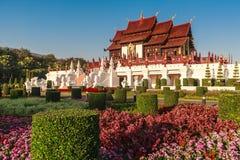 Koninklijk Paviljoen, het Koninklijke Park Rajapruek Royalty-vrije Stock Afbeelding