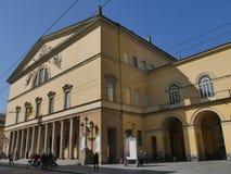 Koninklijk Theater in Parma royalty-vrije stock foto's