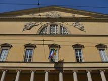 Koninklijk Theater in Parma royalty-vrije stock fotografie