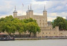 Koninklijk Torenkasteel in Londen, Groot-Brittannië Stock Afbeelding