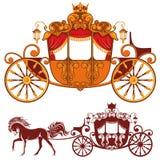 Koninklijk vervoer royalty-vrije illustratie