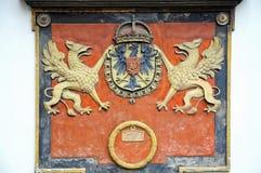 Koninklijk wapenschild Royalty-vrije Stock Fotografie