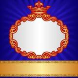 Koninklijke achtergrond Royalty-vrije Stock Foto's