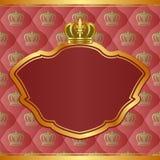 Koninklijke achtergrond Royalty-vrije Stock Foto