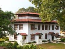 Koninklijke bibliotheek in Bhutan stock foto's