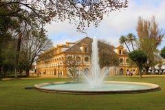 Koninklijke $ce-andalusisch School van Ruiterart. Stock Foto