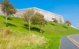 Koninklijke Citadel in Plymouth Stock Foto