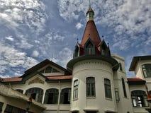 Koninklijke de oriëntatiepuntencultuur van huis Thaise symbolen Royalty-vrije Stock Foto's