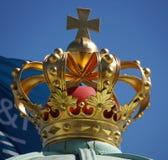Koninklijke Deense kroon Stock Foto