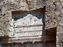 Koninklijke graven in Naghs e Rostan, Persepolis Royalty-vrije Stock Fotografie