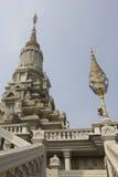 Koninklijke Graven van Udong (Odong), Kambodja Stock Afbeelding