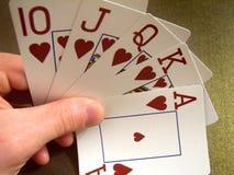 Koninklijke het casino van kaarten Royalty-vrije Stock Foto's