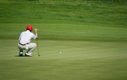 Koninklijke het golftoernooien van de Trofee, Azië versus Europa 2010 stock foto's