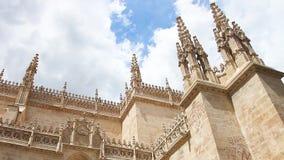 Koninklijke Kapel in Granada stock videobeelden