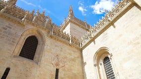Koninklijke Kapel in Granada stock footage