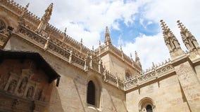 Koninklijke Kapel van Kathedraal van Granda stock videobeelden