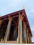Koninklijke Kapel van Smaragdgroene Boedha Royalty-vrije Stock Afbeeldingen
