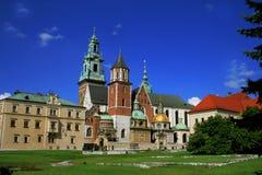 Koninklijke Kathedraal in Krakau Royalty-vrije Stock Foto
