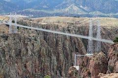 Koninklijke kloofbrug, Colorado royalty-vrije stock foto's