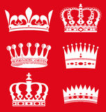 Koninklijke Kronen Royalty-vrije Stock Afbeeldingen