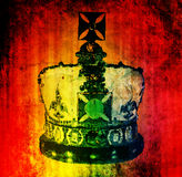 Koninklijke kroon Royalty-vrije Stock Foto