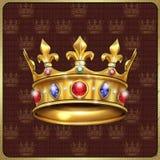Koninklijke kroonwijnoogst Stock Foto's