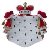 Koninklijke mantel Royalty-vrije Stock Foto