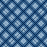 Koninklijke Marineblauwe van het Kerstmisgeruite schots wollen stof Uitstekende Vector Als achtergrond Stock Foto's