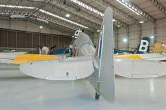 Koninklijke Marineventer Sea Fury T 20 herstelde WG655, Duxford, IWM royalty-vrije stock foto's