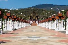 Koninklijke Paviljoenzaal, Chiangmai, Thailand Stock Foto