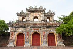 Koninklijke poort in Tint, Vietnam Stock Afbeelding