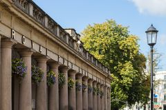 Koninklijke Pump Rooms Leamington Spa stock foto