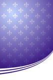 Koninklijke purpere elegante achtergrond Vector Illustratie