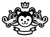 Koninklijke Pussy Royalty-vrije Stock Fotografie