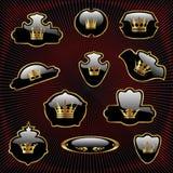 Koninklijke reeks royalty-vrije illustratie