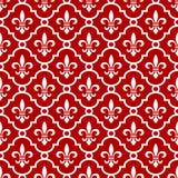 Koninklijke rode achtergrond Royalty-vrije Stock Fotografie