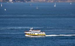 Koninklijke Sterveerboot, van de Blauwe en Gouden Vloot van schepen & boten stock foto
